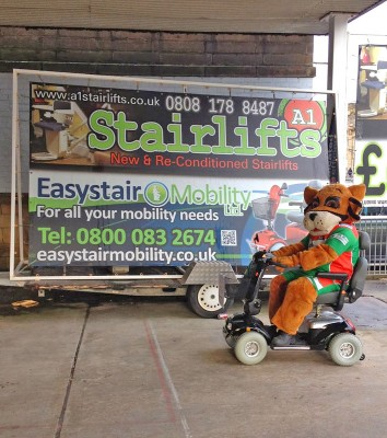 A1 Stairlifts sponsor Keighley Cougars