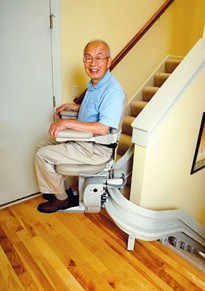 Homeadapt Elite Curve Stairlift