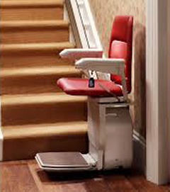 Straight Rental Stairlifts