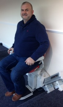 Simon Harrison from A1 Stairlifts